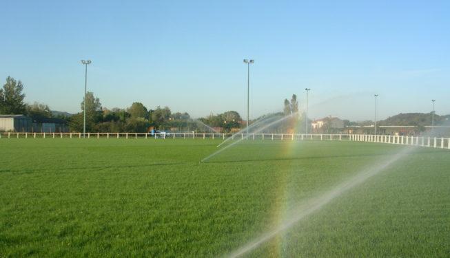 Arrosage terrain de rugby du Rey Ville de Castres