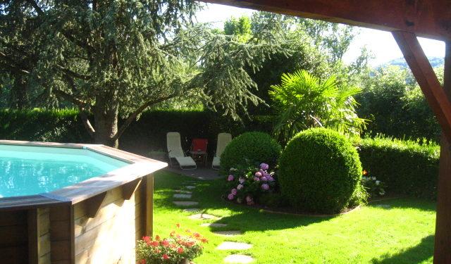 Réalisation terrasse bois exotique et pas japonais Gneiss du Carroux